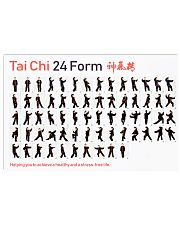 Tai Chi 24 Form  17x11 Poster front