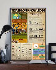 TRIATHLON KNOWLEDGE  24x36 Poster lifestyle-poster-2