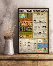 TRIATHLON KNOWLEDGE  24x36 Poster lifestyle-poster-3