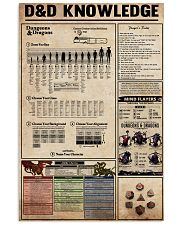 Dungeons - Dragons Knowledge 11x17 Poster front