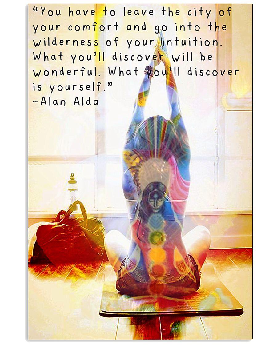 Yoga 11x17 Poster