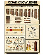Cigar Knowledge 24x36 Poster front