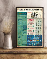 SCUBA DIVER KNOWLEDGE  24x36 Poster lifestyle-poster-3