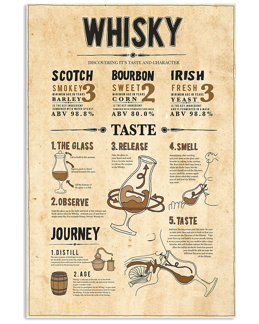 Whisky 11x17 Poster