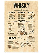 Whisky 11x17 Poster front