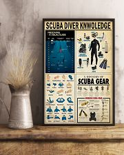 SCUBA DIVER KNOWLEDGE  24x36 Poster lifestyle-poster-3
