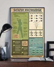 Golfer Knowledge  11x17 Poster lifestyle-poster-2