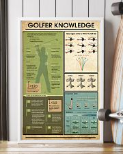 Golfer Knowledge  11x17 Poster lifestyle-poster-4