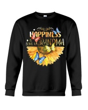 Happiness Is Being A Grandma Crewneck Sweatshirt thumbnail