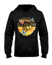 Happiness Is Being A Grandma Hooded Sweatshirt thumbnail