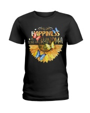 Happiness Is Being A Grandma Ladies T-Shirt thumbnail