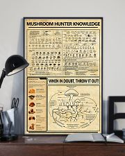 Mushroom Hunter Knowledge 11x17 Poster lifestyle-poster-2