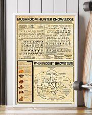 Mushroom Hunter Knowledge 11x17 Poster lifestyle-poster-4