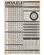 UKULELE Chart 24x36 Poster front