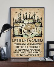 Life Is Like A Camera 11x17 Poster lifestyle-poster-2