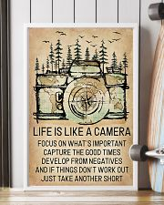 Life Is Like A Camera 11x17 Poster lifestyle-poster-4