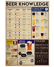 BEER KNOWLEDGE  24x36 Poster front