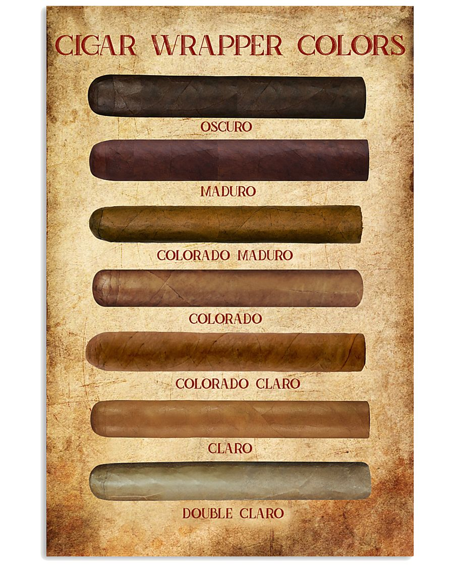 Cigar Wrapper Colors 11x17 Poster