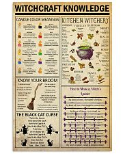 Witchcraft  Knowledge   24x36 Poster front