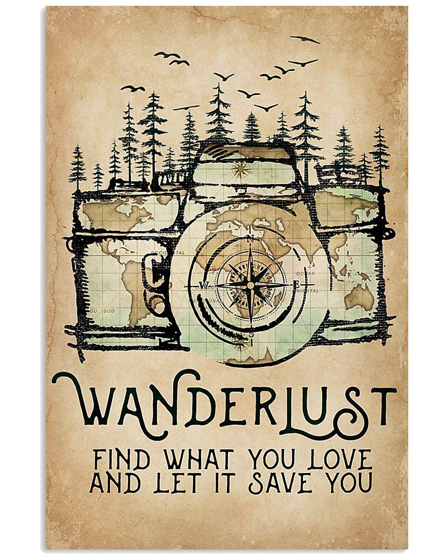 Wanderlust 11x17 Poster