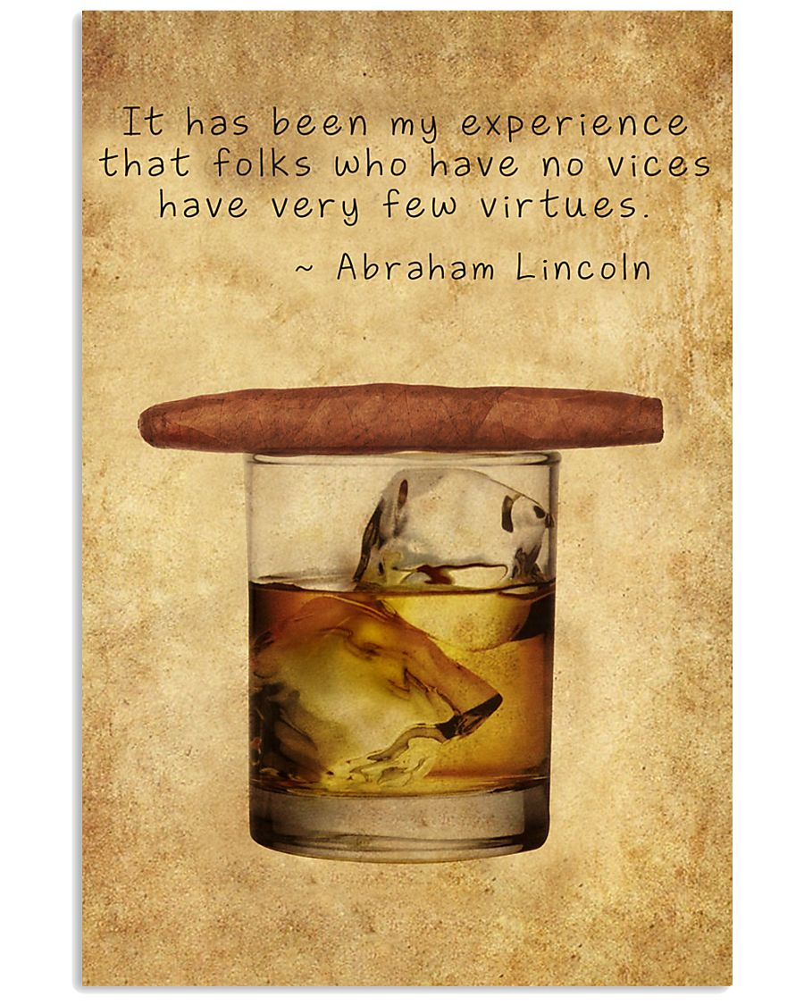 Whiskey And Cigar 11x17 Poster