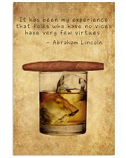 Whiskey And Cigar 11x17 Poster front