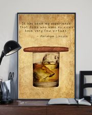 Whiskey And Cigar 11x17 Poster lifestyle-poster-2
