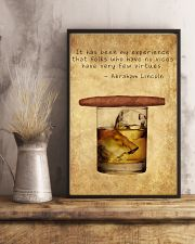 Whiskey And Cigar 11x17 Poster lifestyle-poster-3