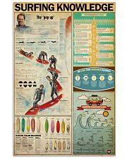 SURFING KNOWLEDGE  24x36 Poster front