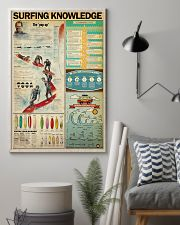 SURFING KNOWLEDGE  24x36 Poster lifestyle-poster-1