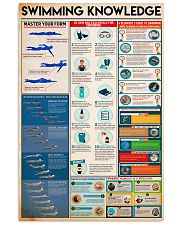 Swimming Knowledge 24x36 Poster front