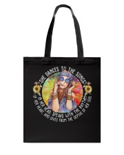 She Dances To The Songs Tote Bag thumbnail