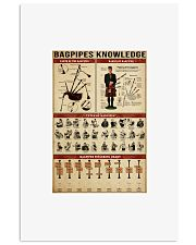Bagpipes Knowledge 11x17 Poster front