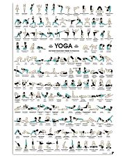 Yoga Posture  11x17 Poster front