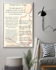Yoga  11x17 Poster lifestyle-poster-1