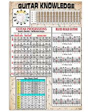 Guitar Knowledge 11x17 Poster front