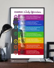 Chakras - Daily Affirmation  11x17 Poster lifestyle-poster-2