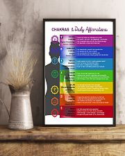Chakras - Daily Affirmation  11x17 Poster lifestyle-poster-3