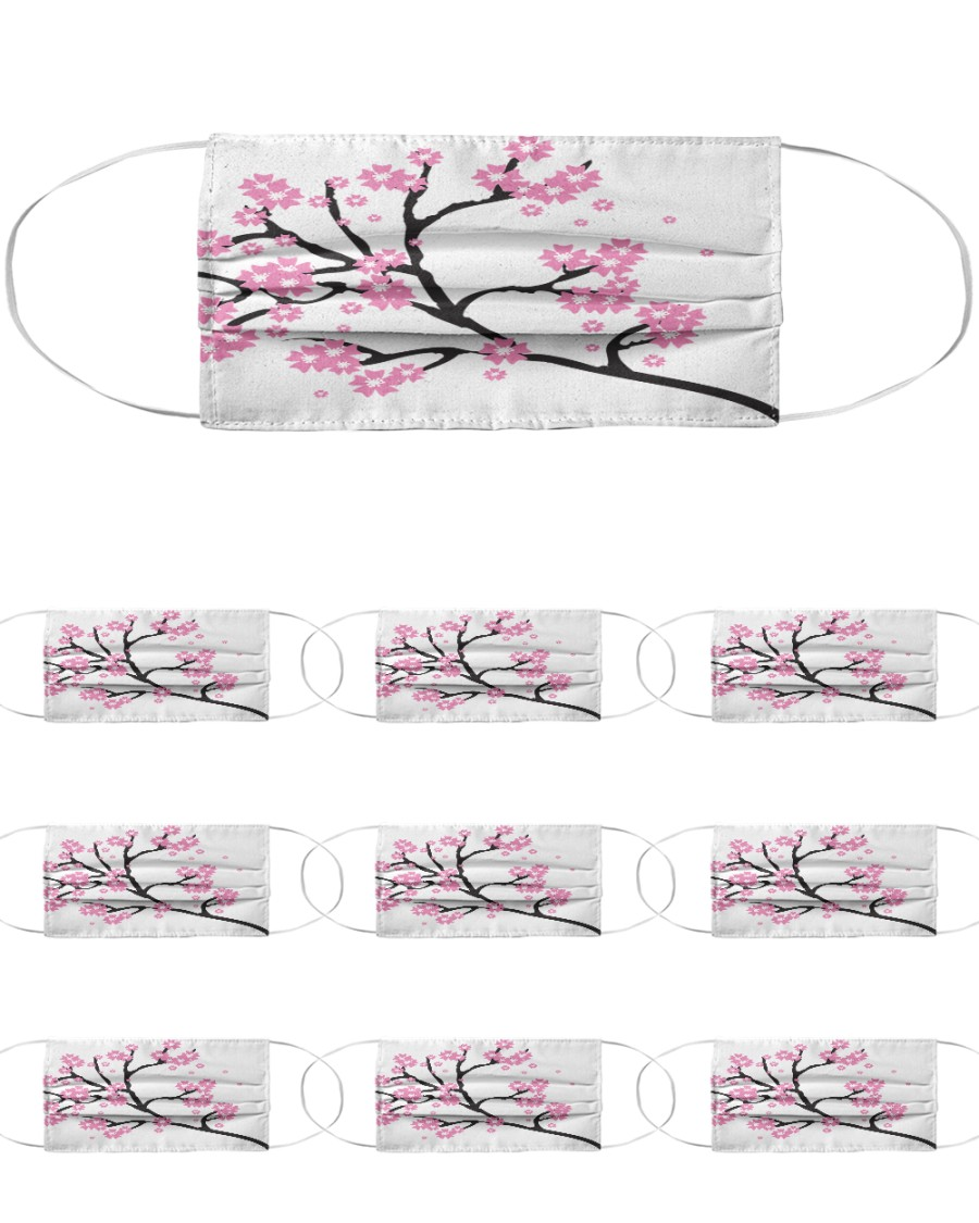 Spring Blossom Cloth Face Mask - 10 Pack