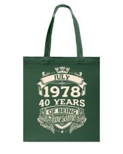 JulyMC-1978 Tote Bag thumbnail
