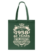 April-1958 Tote Bag thumbnail