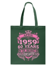 April-C1959-19 Tote Bag thumbnail