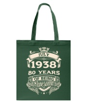 July-1938 Tote Bag thumbnail