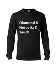 Diamond and Horovitz and Yauch Long Sleeve Tee tile