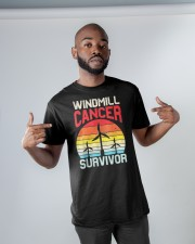Windmill cancer survivor Classic T-Shirt apparel-classic-tshirt-lifestyle-front-32