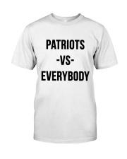Patriots Vs Everybody Classic T-Shirt tile