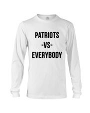 Patriots Vs Everybody Long Sleeve Tee thumbnail