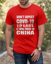 Do Not Expect Shirt Classic T-Shirt apparel-classic-tshirt-lifestyle-front-53