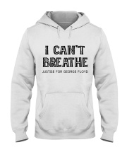 I Can not Breathe Hooded Sweatshirt thumbnail