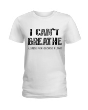 I Can not Breathe Ladies T-Shirt thumbnail